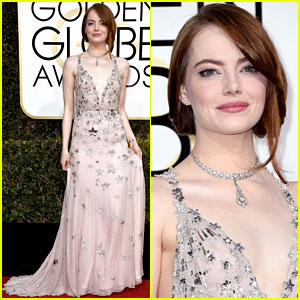 Emma Stone's Golden Globes 2017 Look Is Stunning!