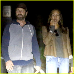 Gerard Butler & Morgan Brown Appear to Be Back Together!