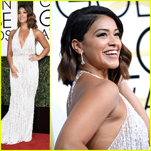 Gina Rodriguez is 'Forever Grateful' at Golden Globes 2017