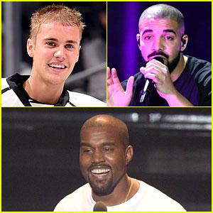 Kanye West, Drake & Justin Bieber Plan to Skip Grammys 2017