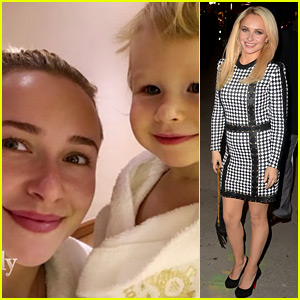 Hayden Panettiere Shares Video of Her Daughter Kaya Skiing!