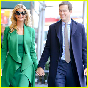 Ivanka Trump & Jared Kushner Head to Washington, DC for Inauguration