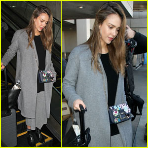 Jessica Alba Had a Busy Business Trip in New York City!