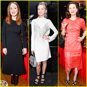 Julianne Moore & Naomi Watts Help Stella McCartney Celebrate Launch Of  New Autumn 2017 Collection