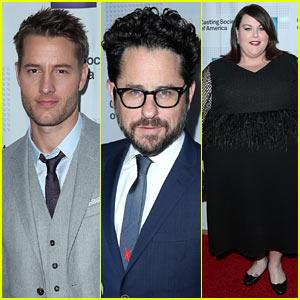 Justin Hartley, J.J. Abrams, & Chrissy Metz Look Sharp at Artios Awards 2017