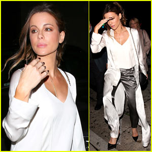 Kate Beckinsale Enjoys Girls Night Out in WeHo