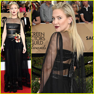 Kate Hudson's SAG Awards 2017 Prep Looked Intense!