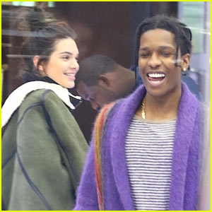 Kendall Jenner & Rumored Boyfriend A$AP Rocky Spotted Hanging Out