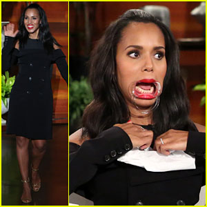VIDEO: Kerry Washington Playing 'Speak Out' Will Make You Love Her Even More!
