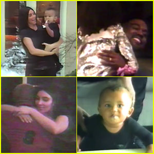 VIDEO: Kim Kardashian Shares Sweet Family Footage of Kanye West & Their Kids