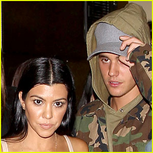 Kourtney Kardashian & Justin Bieber Seen Out Together in New Pics