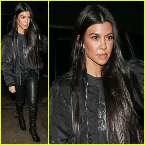 Kourtney Kardashian Dances With On-Again Beau Scott Disick