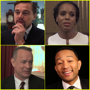 VIDEO: Leonardo DiCaprio, Kerry Washington & Other Celebs Say Farewell to President Obama