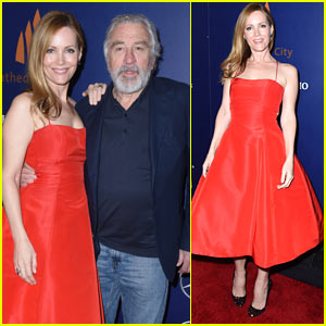 Leslie Mann & Robert De Niro Bring their Film 'The Comedian' to Palm Springs Film Festival