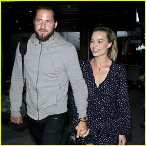 Margot Robbie & Husband Tom Ackerley Emerge After Their Surprise Wedding!
