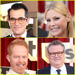 'Modern Family' Cast Beams With Pride at SAG Awards 2017