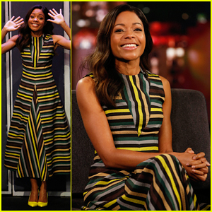 Naomie Harris Had To Lie Flat In Her Dress Before Golden Globes 2017 Red Carpet!