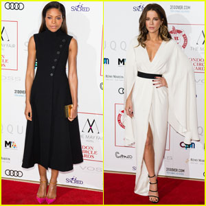 Naomie Harris & Kate Beckinsale Win at London Critic's Circle Film Awards 2017