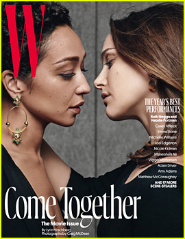 Natalie Portman & Ruth Negga Lean in for a Kiss on 'W' Cover!