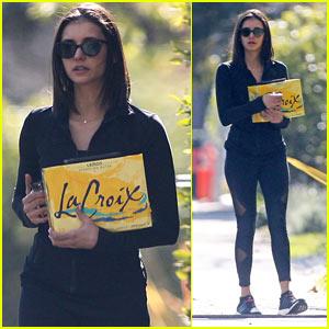 Nina Dobrev Runs Errands Around L.A. on Her Day Off