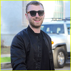 Sam Smith Makes Rare Appearance in West Hollywood