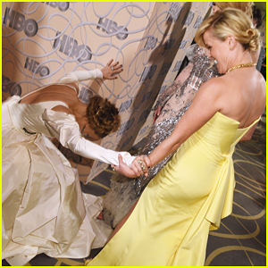 Sarah Jessica Parker Bows Down To Nicole Kidman & Reese Witherspoon At Golden Globes 2017 HBO Party!