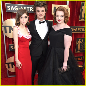'Stranger Things' Stars Shannon Purser, Joe Keery & More Hit SAG Awards 2017 Together
