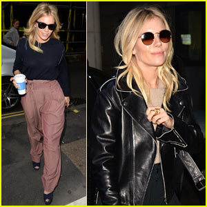 Sienna Miller Struts Her Style Around London
