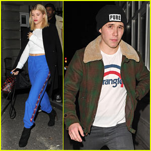 Sofia Richie & Brooklyn Beckham Hang Out in London