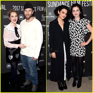 Teresa Palmer & Jenny Slate Premiere New Movies at Sundance!