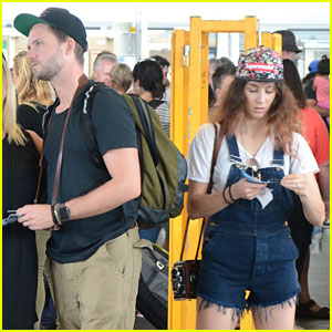 Troian Bellisario & Patrick J. Adams Honeymoon in Sydney