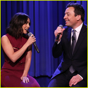 Vanessa Hudgens Performs the 'Friends' Theme Song With Jimmy Fallon - Watch Now!
