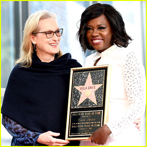Viola Davis Receives Star on Hollywood Walk of Fame, Meryl Streep Presents to Her Pal!