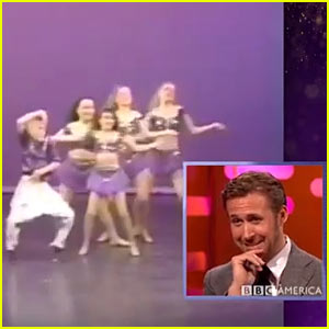 Watch Ryan Gosling React to His Childhood Dance Videos!