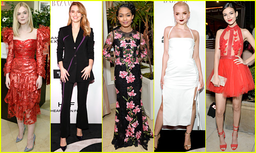 Young Hollywood's Hottest Stars Step Up Style Game for Harper's Bazaar's Most Fashionable Women Event!