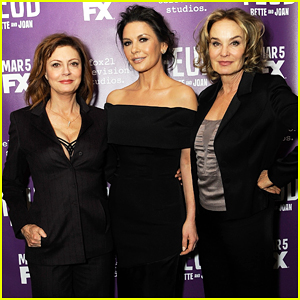 Catherine Zeta-Jones Wants Women To Support & Hold Each Other Up!