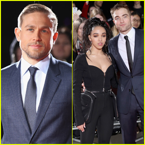 Charlie Hunnam & Robert Pattinson Suit Up For 'Lost City of Z' London Premiere