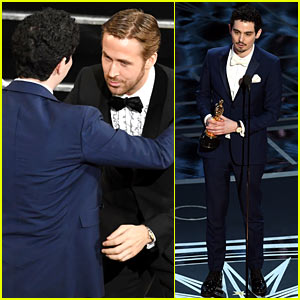 Damien Chazelle Wins Oscars' Best Director, Breaks Record for Youngest Winner! (Video)