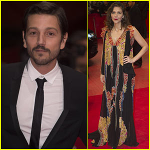 Diego Luna & Maggie Gyllenhaal Attend the Closing Night of the Berlin Film Festival