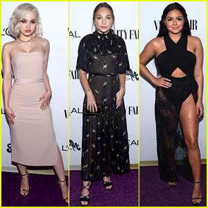 Dove Cameron, Maddie Ziegler, & Ariel Winter Glam Up for Vanity Fair's Young Hollywood Party!