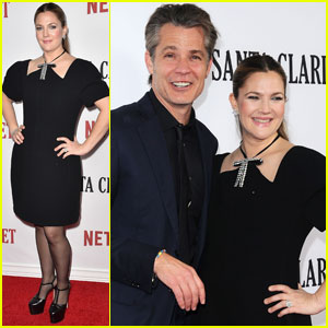Drew Barrymore Premieres 'Santa Clarita Diet' in Hollywood