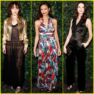 Emilia Clarke, Thandie Newton, & Caitriona Balfe Glam Up to Celebrate the BAFTAs!