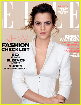 Emma Watson Tells 'Elle UK' How Critics Have Toughened Her Up