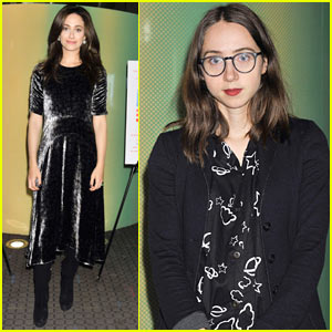 Emmy Rossum & Zoe Kazan Attend 'About Elly' Premiere in NYC