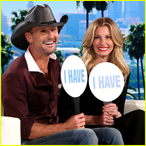 Faith Hill & Tim McGraw Play Never Have I Ever on 'Ellen' (Video)