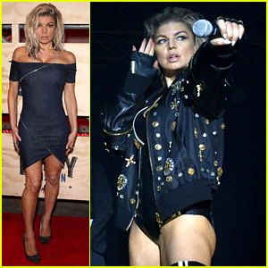 Fergie Rocks Out for ESPN Party During Super Bowl Weekend!