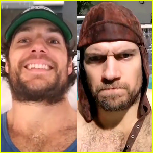 Henry Cavill Shares Videos from His Knee Recovery Workouts