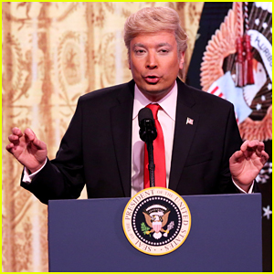Jimmy Fallon Spoofs Donald Trump's Press Conference On 'The Tonight Show' - Watch Here!