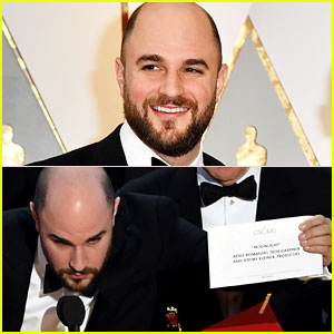 Good Guy Jordan Horowitz Corrects Best Picture Mistake During Live Oscar 2017 Broadcast