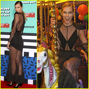 Karlie Kloss Hosts a Fabulous Fun Fair for Charity to Close Out London Fashion Week!